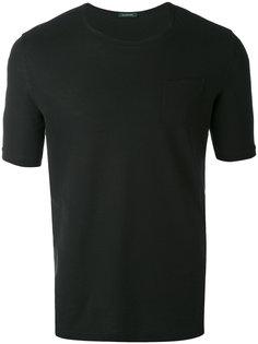 футболка с нагрудным карманом Zanone
