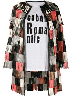 fringed jacket Caban Romantic
