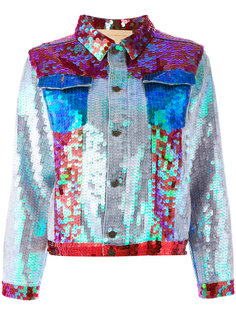 sequinned boxy jacket Night Market