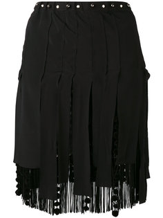 fringed mini skirt Nº21