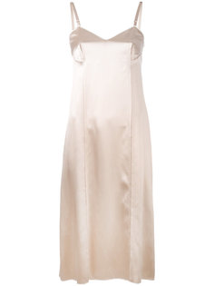 платье на тонких лямках Calvin Klein Collection