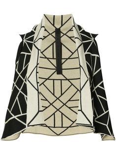 graphic sleeveless sweater Gareth Pugh