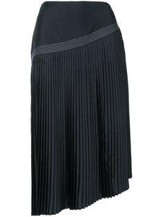 асимметричная плиссированная юбка Nehera