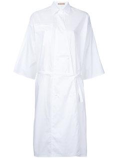 поплиновое платье с запахом Dalen Nehera