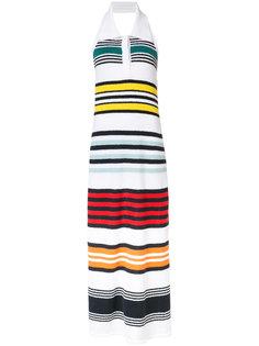 rainbow striped dress Rosie Assoulin