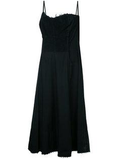 платье с махровой панелью Comme Des Garçons Vintage