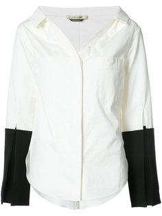 Bessette contrast cuff shirt Hellessy