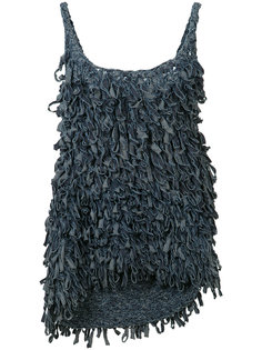 fringed tank top Spencer Vladimir