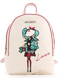 рюкзак с верхней ручкой Love Moschino