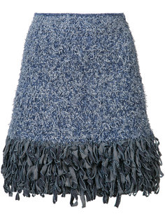 fringed mini skirt Spencer Vladimir