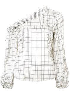 блузка на одно плечо Rimini Hellessy