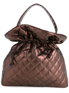 quilted drawstring tote Theatre Products
