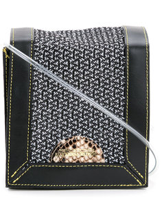 textured shoulder bag Theatre Products