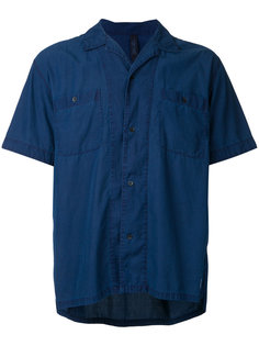 рубашка с короткими рукавами и открытым воротником Factotum