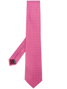 галстук с узором Salvatore Ferragamo