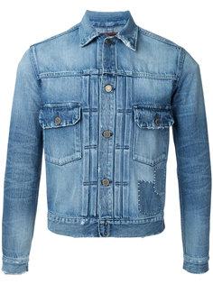 stonewashed denim jacket Factotum