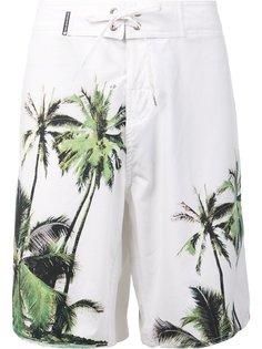 шорты для плавания с принтом пальм Osklen