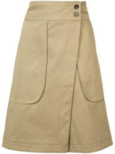 "юбка в стиле ""сафари"" Vanessa Bruno"