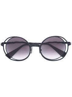 round-frame sunglasses Kuboraum
