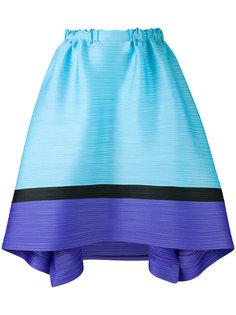 юбка с горизонтальной плиссировкой  Pleats Please By Issey Miyake
