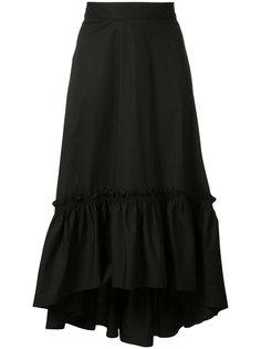 асимметричная плиссированная юбка Trina Turk