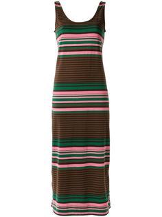 striped midi dress Osklen
