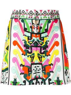 шорты с завышенной талией Emilio Pucci