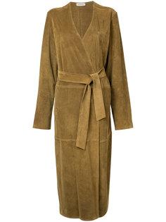 oversized leather coat Attico