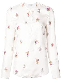 рубашка с цветочным принтом Gabriela Hearst