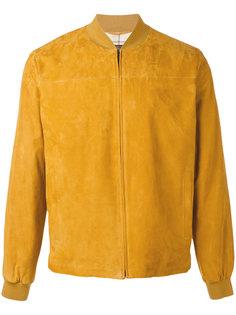 замшевая куртка-бомбер Loro Piana