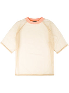 sheer T-shirt Y / Project