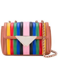 striped shoulder bag Sara Battaglia