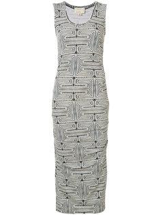 платье без рукавов с принтом Nicole Miller