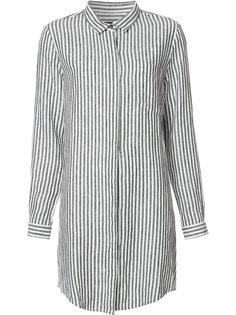 полосатое платье-рубашка Osklen