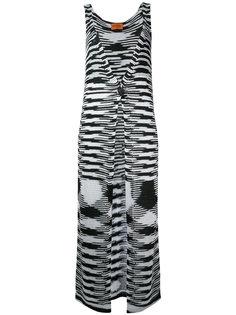длинный вязаный жилет Missoni