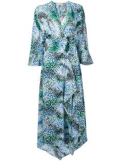 платье-кимоно с рисунком Haze Marni