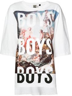 футболка с принтом Boys Fausto Puglisi