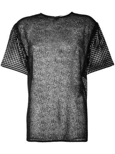 футболка с вышивкой Diane Von Furstenberg
