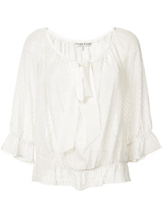 вышитая блузка Trina Turk