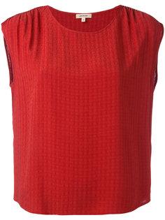Terracotta blouse Bellerose