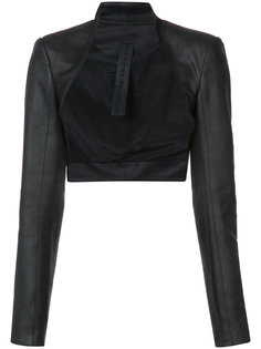 leather bolero Gareth Pugh