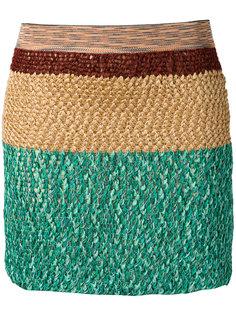 вязаная мини-юбка Missoni