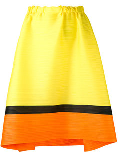 horizontal pleat skirt Pleats Please By Issey Miyake