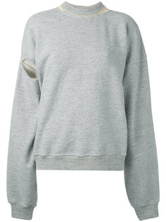 wide sleeve sweatshirt Y / Project