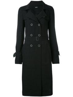 двубортное летнее пальто Jil Sander Navy