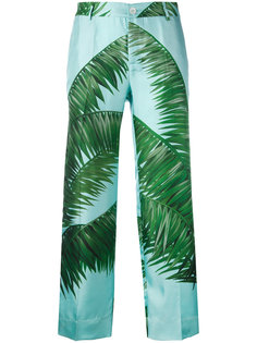 palm print loose fit trousers F.R.S For Restless Sleepers