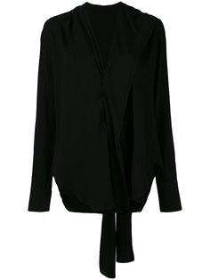 tie blouse Yohji Yamamoto