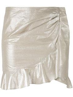 мини-юбка с оборкой  Isabel Marant