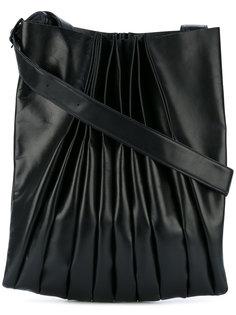 ruched shoulder bag Yohji Yamamoto