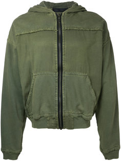 panelled hooded jacket Haider Ackermann